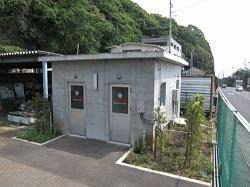 天然ガス供給用メーター施設