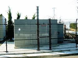 天然ガス受入調整施設