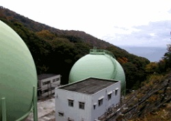 天然ガスバックアップ用供給施設